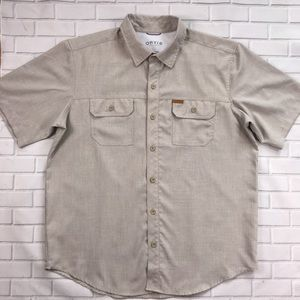 Orvis Classic Collection Button Up Shirt Mens L